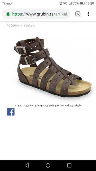 Grubin sandale, Nova Pazova - mojekrpice rs