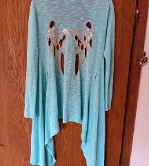 Plavi ogrtač sa krilima