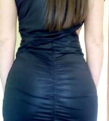 Crna sexy cut out haljina SNIZENO