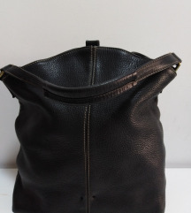 ITALY baš velika  torba prirodna 100%koža 45x40