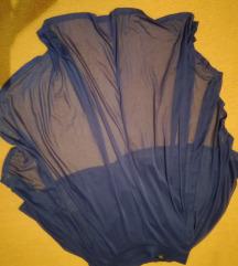 Indigo plava suknja
