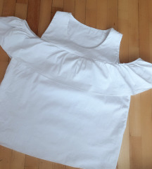 Majica bela karner na ramena