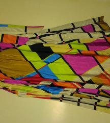 NOVO apstraktna Pikaso haljina