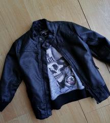 Terranova kozna decija jakna i duks 92-98