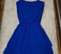H&M haljinica kraljevsko plava SNIZENO!!!