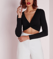 OVS Twist crop top