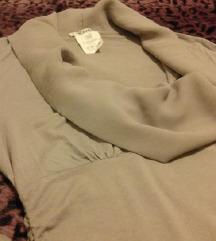 Siva bluza (za trudnice)