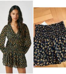 NOVO cvetna suknja/pantalone sa etiketom