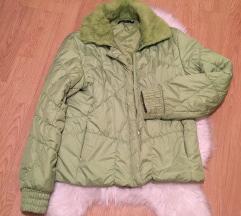 Zimska jakna zecije krzno
