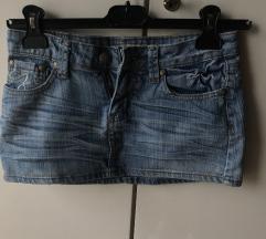 Dve teksas suknje