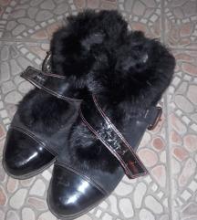 Kratke crne cizme - POPUST!!