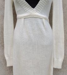 NOVO Bela dzemper- haljina SNIZENJE