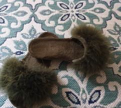 Papuce sa pravim krznom
