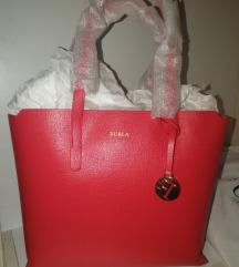 Furla kožna torba ORIGINAL novo crvena