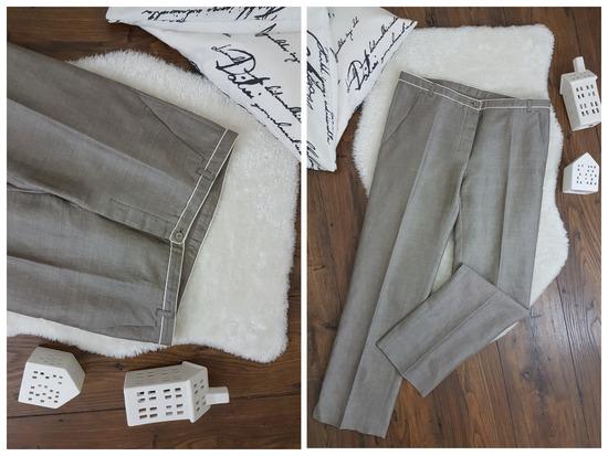 MaxMara 40 lanene pantalone * kao NOVO