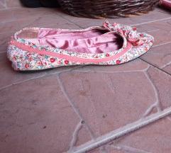 Safran niske baletanke - cvetne