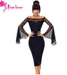 Crna svecana haljina cipka NOVO (mere)