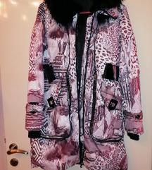 Zimska jakna sa prirodnim krznom 38