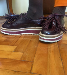 Zara ženske oxford cipele