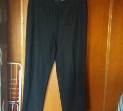 Crne nemačke lanene pantalone