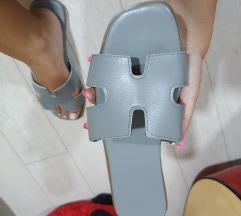 Ravne papuče / like hermes