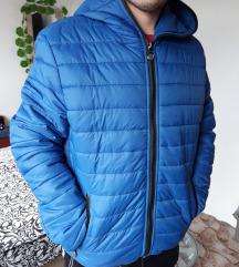 Muska plava jakna
