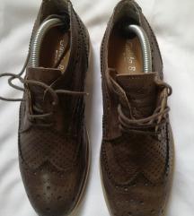 MUSKE kozne italijanske cipele 41(27cm)