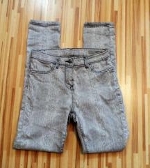 Skinny animal pantalone M