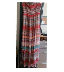 990 din❤️Besrhka dugačka top haljina uni vel.