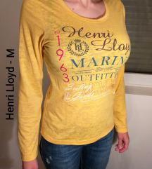 Henry Lloyd ženska majica žuta M - ORIGINAL