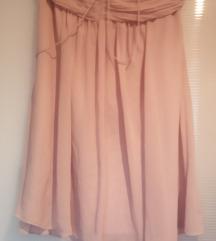 Puder roze suknja