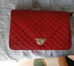 Crvena zenska torba
