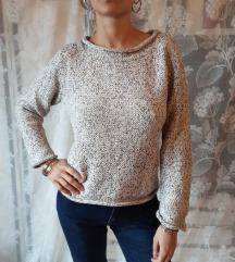 Krem džemper