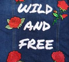 Teksas Jakna Wild And Free