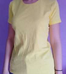 Majica pamuk -zuta