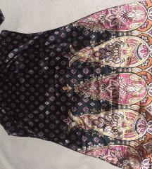 Nova svilena haljina šarena
