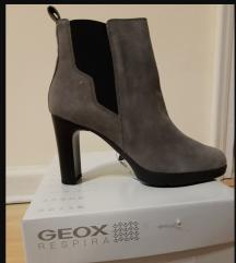 Kozne cizme,26,gleznjace,40,Geox, novo,sa etiketom