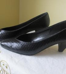 Crne kožne cipele Don Francisco, italijanske