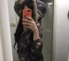 REZZ Perjana jakna sa pravim krznom
