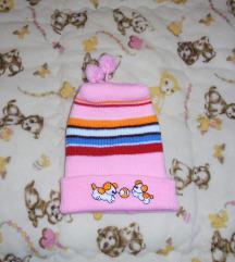 Zimska kapa sa kucama 56-62  (nema etiketu)