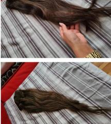 Kosa na klipse prirodna jos slika