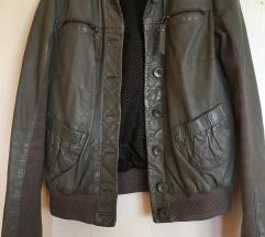 Siva kožna jakna Liu Jo