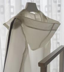 Zara trasparentni kišni mantil rez