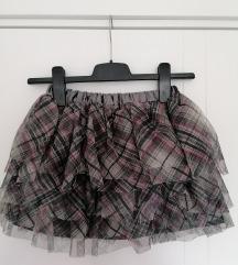 Novo! H&m suknjica od tila 7 8