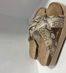 Papuče animal print NOVO