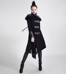 PunkRave Asymmetric Woolen Military Jacket S