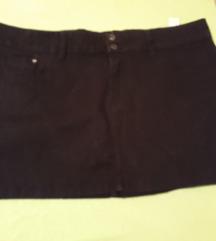 Terranova crna mini suknjaM