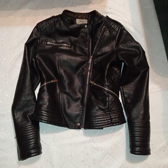 Kozna jakna rokerica vel L