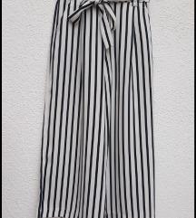 999! Zara prugaste palazzo pantalone