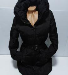 ZARA perjana duža jakna vel L
